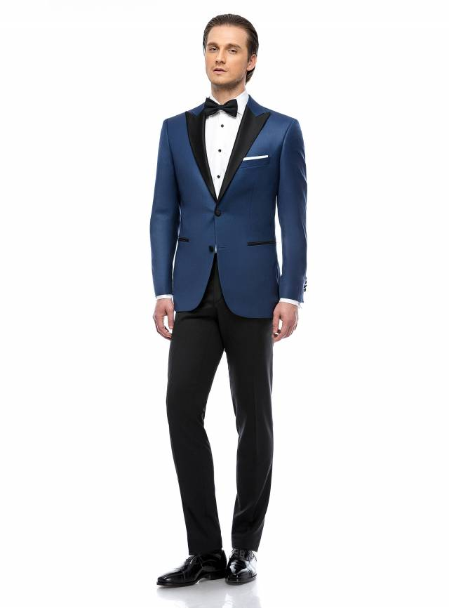 Costum Essential Dark Blue Tuxedo-0